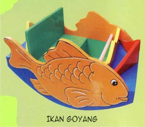 Kursi Goyang Model Ikan