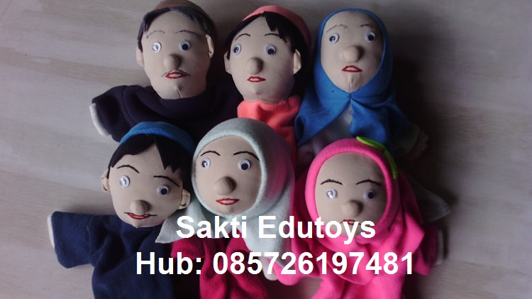 Boneka Tangan Keluarga 01