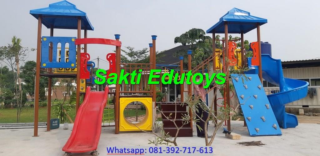 Pengantaran dan Pemasangan Playground Anak di Salatiga murah berkualitas
