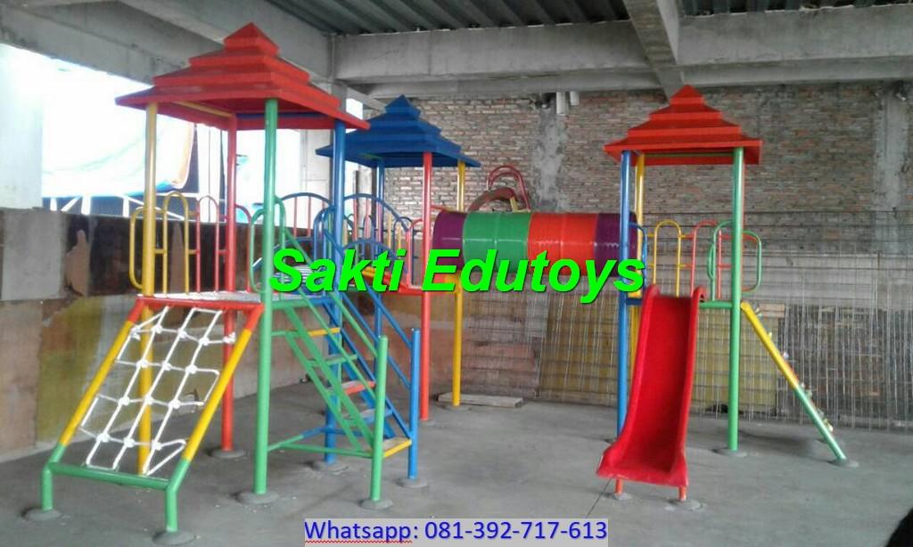 Pengantaran dan Pemasangan Playground Anak di Salatiga kualitas terbaik